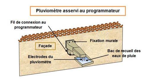 arrosage/pluviometre-programmateur - Professionnels A Domicile