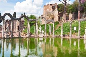 jardin de la villa adriana à Tivoli - Professionnels A Domicile