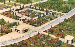 reproduction des jardins de pasagardes ; jardins perses de l'antiquité - Professionnels A Domicile