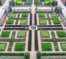 chateau dAmboise, détails des jardins de la renaissance française - Professionnels A Domicile