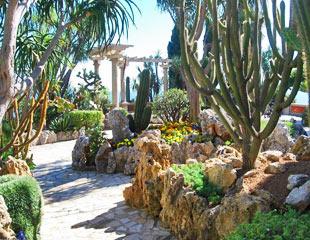 jardin éxotique de Monaco parcs et jardins contemporains - Professionnels A Domicile