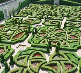 détail des jardins du château d'Amboise ; jardins de la renaissance française - Professionnels A Domicile
