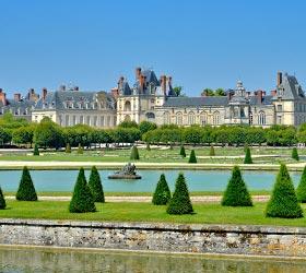 jardins du Château de Fontainebleau renaissance française - Professionnels A Domicile