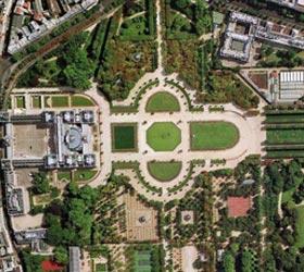 plan des jardins du luxemboug - Professionnels A Domicile