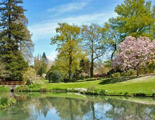 Parc de la Beaujoire à Nantes parcs et jardins contemporains - Professionnels A Domicile
