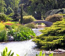 parc de la tête d'or à Lyon ; jardins paysagers de 1850 à 1910 ; histoire des jardins - Professionnels A Domicile