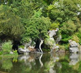 plan d'eau au parc Bagatelle - Professionnels A Domicile