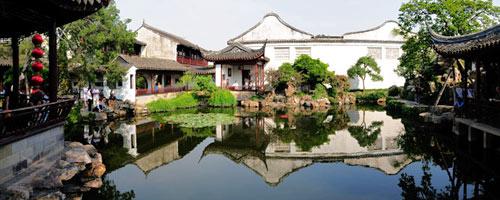 """Jardin Wangshi Yuan à Suzhou (Chine) """"jardin des maitre des filets"""" - Jardins chinois - histoire des jardins - Professionnels A Domicile"""
