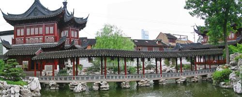 Jardin Yu à Shangaï : Jardins chinois - histoire des jardins - Professionnels A Domicile