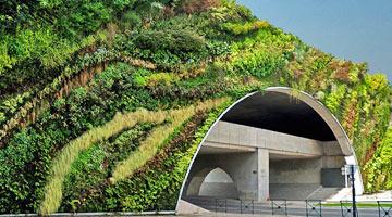 mur végétal à Aix-en-Provence ; parcs et jardins contemporains depuis 1980 - Professionnels A Domicile