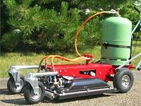 Désherbeur-thermique-chariot -jardiniers Professionnels