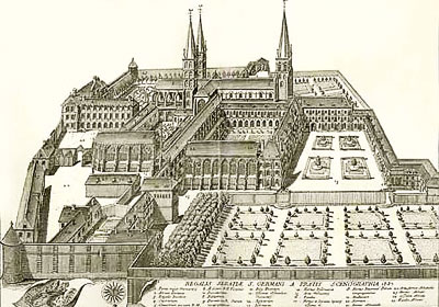 Abbaye-Cluny-jardins-moyen-age