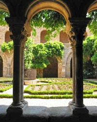 Jardin de l'Abbaye de Fontfroide à Narbonne
