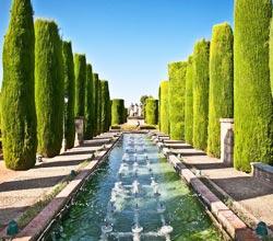 Les Jardins d'Alcazar à Seville