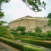jardins Madinat Al-Zahra à Cordoue