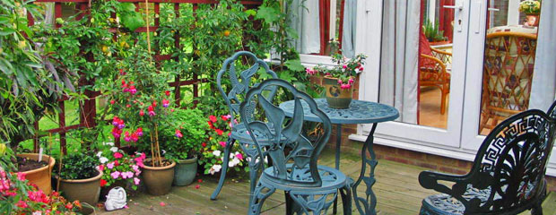 terrasse et balcon en octobre : quels travaux ? - Jardiniers Professionnels