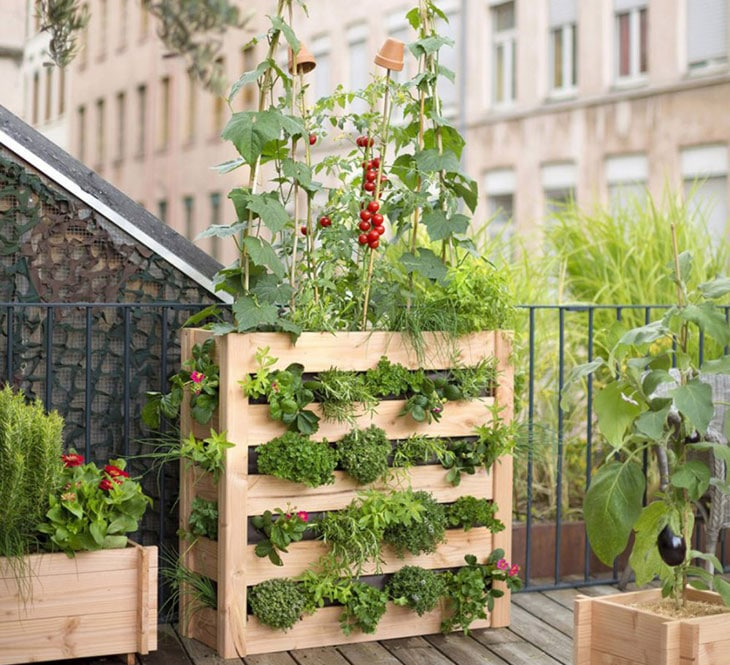 conseils pour am nager le balcon conseils pour am nager la terrasse en potager. Black Bedroom Furniture Sets. Home Design Ideas