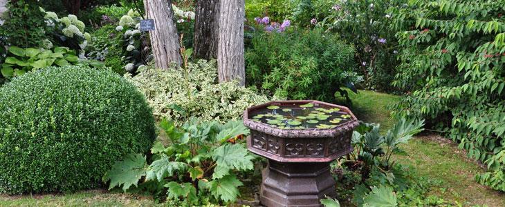 ménager un Jardin Romantique