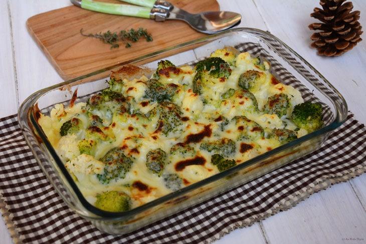 gratin de brocolis - recettes de brocoli