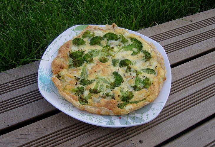 tarte de brocolis - recettes de brocoli