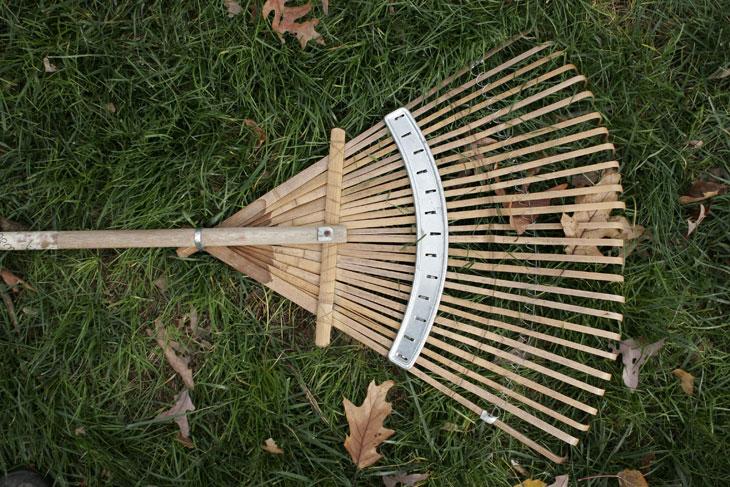 rateau outils de jardinage pour l'hiver