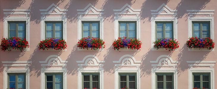 balcons et terrasses au printemps