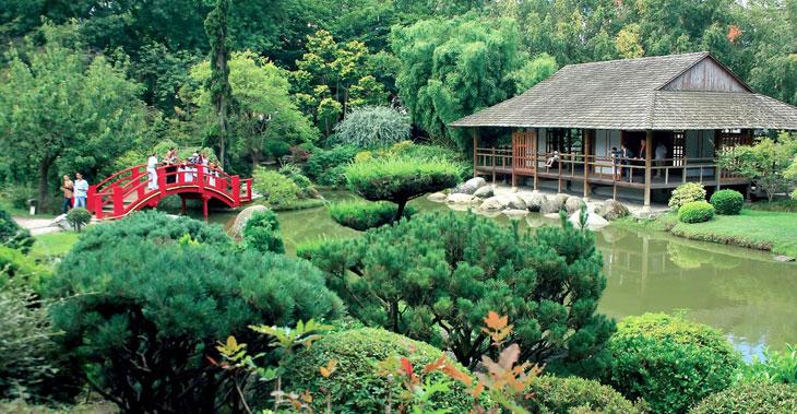 jardin Compans Caffarelli à Toulouse jardins japonais à visiter en france