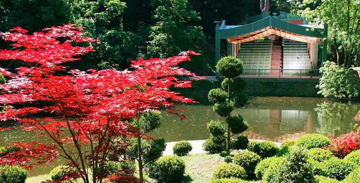 jardin japonais du Potager des Princes