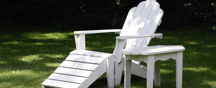 entretien du mobilier de jardin en plastique