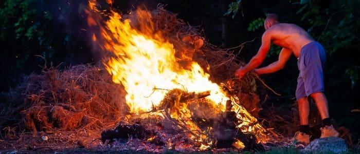 Interdiction brûler déchets verts